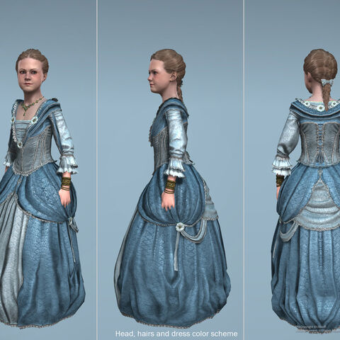 Junge Jennifer - Ubisoftcharackter-Design