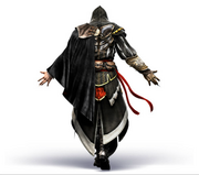 AC2 Ezio armor of Altair back render by Michel Thibault