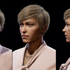 毕博的人物头部模型