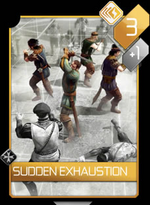 ACR Sudden Exhaustion