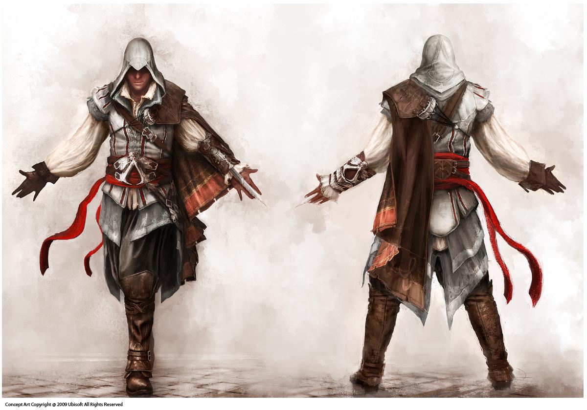 Image Assassin S Creed 2 Ezio Concept Jpg Assassin S