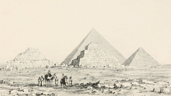 DTAE Pyramid of Menkaure - Queens' Pyramids