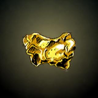 宝藏之心 - 形状有如人类心脏的大型金块。