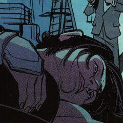 西沃恩·达米带有自毁装置的袖剑