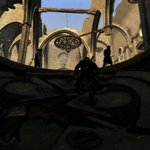 修道院被毁灭