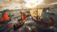 Naval battle - Assassin's Creed Odyssey