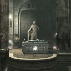 Le tombeau de <b>Darius</b> à Florence