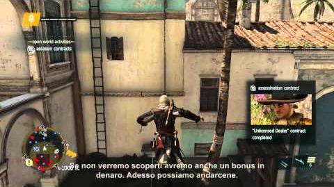 Video di gameplay Stealth Assassin's Creed 4 Black Flag IT