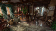 AC4 Great Inagua Manor Interior - Concept Art 2