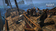 AC4 Queen Anne's Revenge Topdeck
