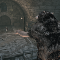 Le chef de meute donnant l'ordre à ses sous-fifres d'attaquer
