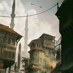 君士坦丁堡的街道