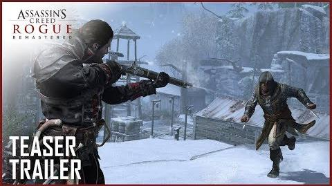 Assassin's Creed Rogue Remastered Announcement Teaser Trailer Ubisoft US