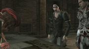 Assassin - Antonio de Maianis - Discussing with Ezio and Leonardo