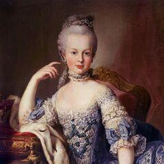 12岁的玛丽·安托瓦内特