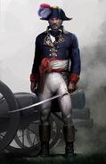 Soldato francese concept art