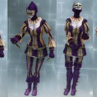 女丑角装备