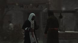 Podsłuchiwani przez Altaïra mieszkańcy