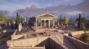 ACOD Athens Temple of Hephaistos