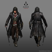 ACS Jacob Frye Outdoorsman Outfit - Concept Art