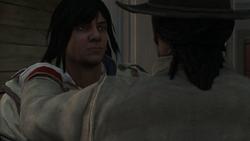 Connor devenant Assassin