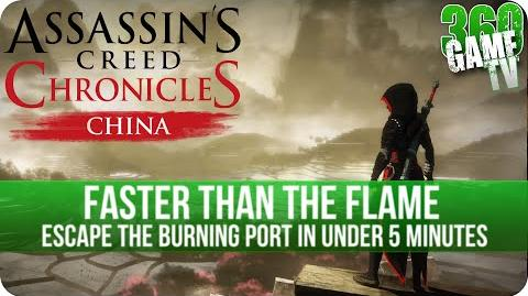 Assassins Creed Chronicles China - Faster Than The Flame - Achievement Trophy Guide (Time 04 00)