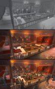ACU Cafe Theatre Salon - Concept Art