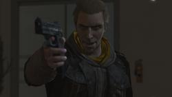Daniel Cross pistola New York