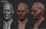 Laurens Prins modelli facciali Threesquid