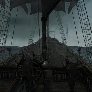 爱德华在风暴中航行