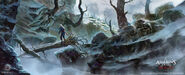 ACRogue Shay River Valley inverno concept art 2