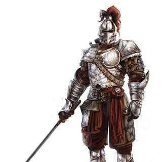 骑士的设定图