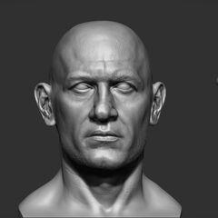 鲁耶的头部模型