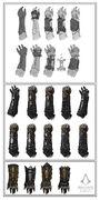 Assassin Gauntlet Evolution Sketches