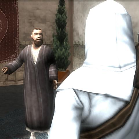 阿尔泰与马库斯在抵抗军的据点会面