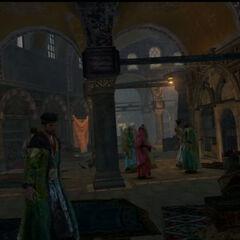 Des citoyens dans le <b>Grand Bazar</b>.