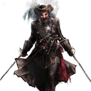 黑胡子的概念图