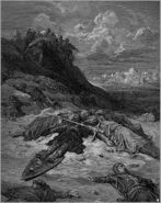 250px-Gustave dore crusades death of frederick of germany
