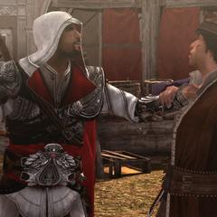 Ezio en Duccio in Rome.