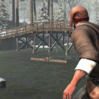 掉入河中的泰瑞