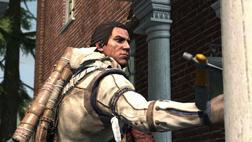 Connor wbija tomahawk