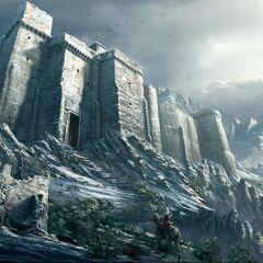 通向城堡的小径