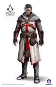 ACRG Shay 11th Century Templar - Concept Art