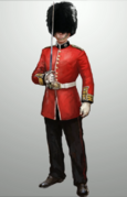 ACS British Royal Guard - Concept Art