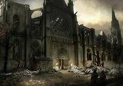ACU DK Basilica of Saint-Denis 02 - Concept Art