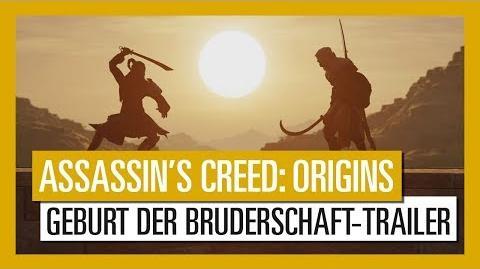 Assassin's Creed Origins Die Geburt der Bruderschaft