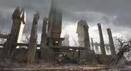 Medusa temple artwork - Assassin's Creed Odyssey