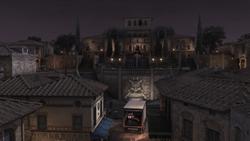 Monteriggioni veduta tempi moderni