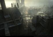 ACUnity Assassini tetti concept art