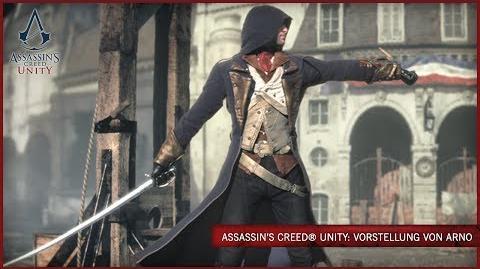 Assassin's Creed Unity Vorstellung von Arno DE